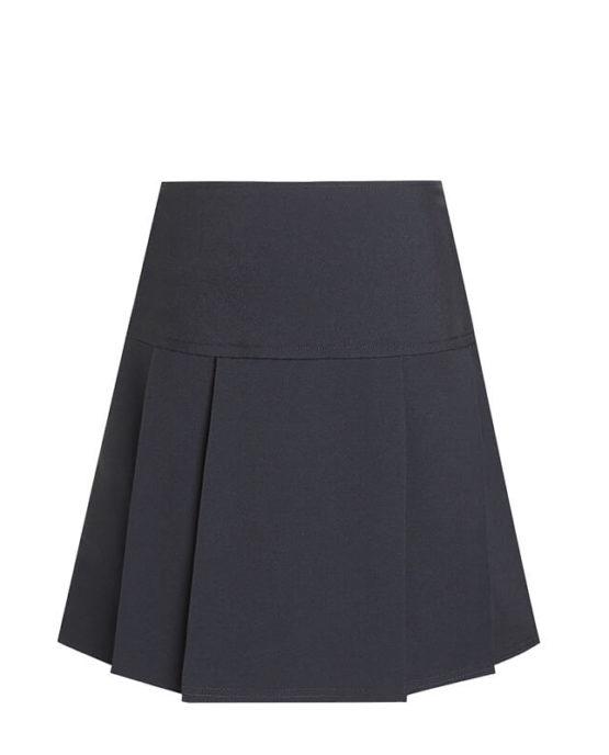 Jupe plis simples pour uniforme scolaire