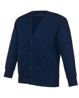 Cardigan bleu marine pour vêtements scolaires