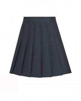 jupe plissée marine pour uniforme scolaire