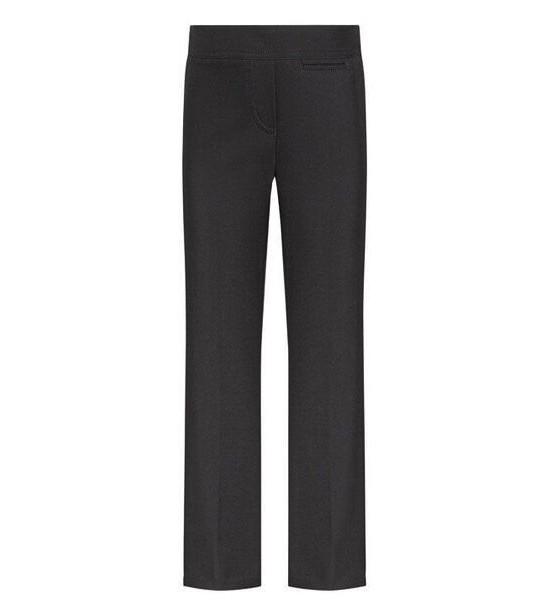 Pantalon fille uniforme scolaire gris foncé