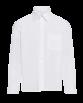 Chemise blanche avec poche pour uniforme scolaire