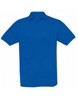 Polo en maille piqué bleu roi