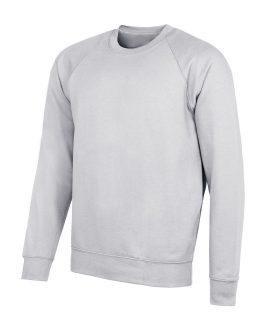 Pull col rond gris pour tenue scolaire unique