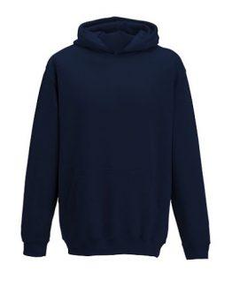 Sweat à capuche bleu marine pour code vestimentaire