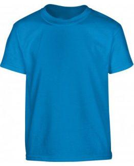 Tee shirt pour uniforme scolaire sapphire