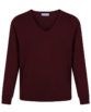 Pull maille - Bordeaux
